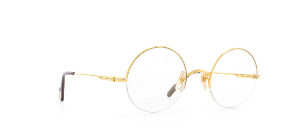 194c80729d Cartier Mayfair T8100.108 GLDGL Gold Certified Vintage Round ...